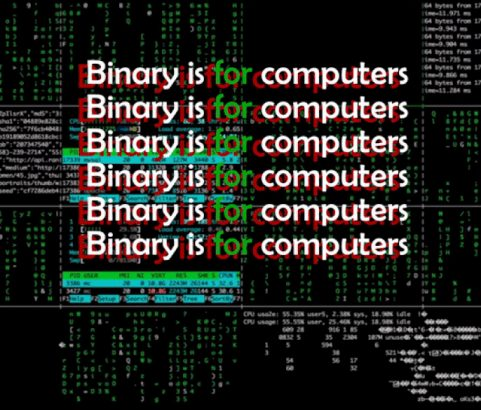 Binary is For Computers